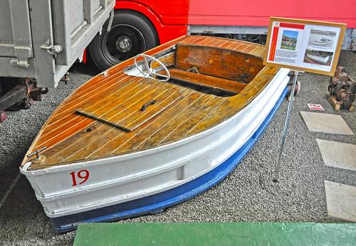 Onchan Park pleasure boat