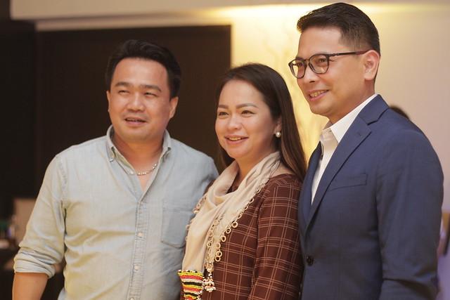 Vice Mayor Bernie Al-ag, Ms. Cherry Faye Al-ag and GM Ken Kapulong