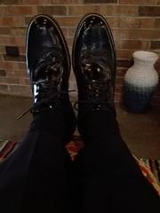 la comodidas de unos zapatos Bostonianos hechos en México. Mis zapatos favoritos, y tu cuales te gustan? Cuales me recomiendas.