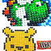 Pixel Art Characters made of Candy Pieces