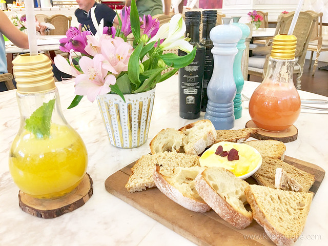 Breads and Drinks from L'eto Caffe