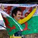 Geraint Thomas Tour De France celebration by LooksTidy