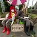 Rainow Scarecrows