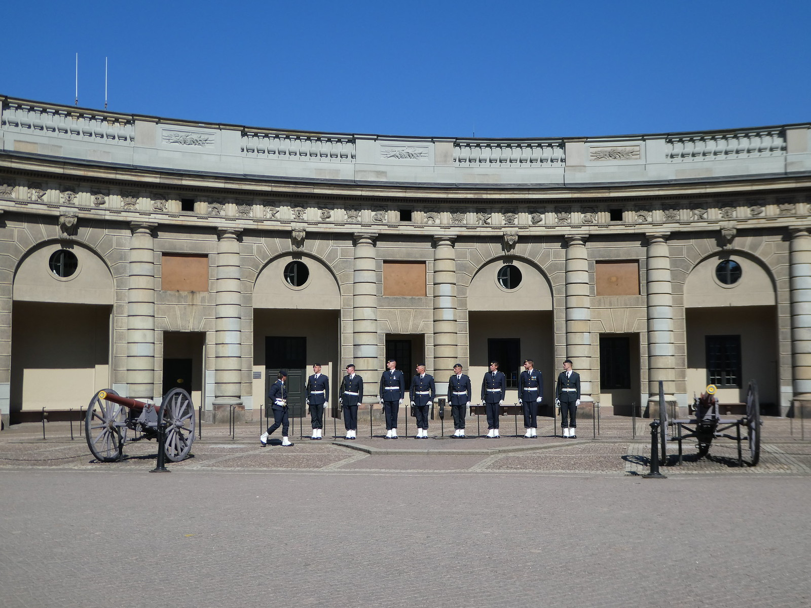 Changing of the Guards at Stockholm Royal Palace