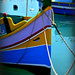 The Fishing Fleet at Marsaxlokk by Ian Campsall