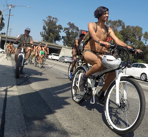 L.A. World Naked Bike Ride 2018 (155645A)