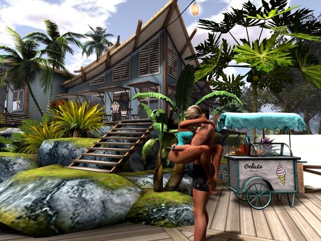 Bahama Breeze -  Tiggy Pounce Island Style
