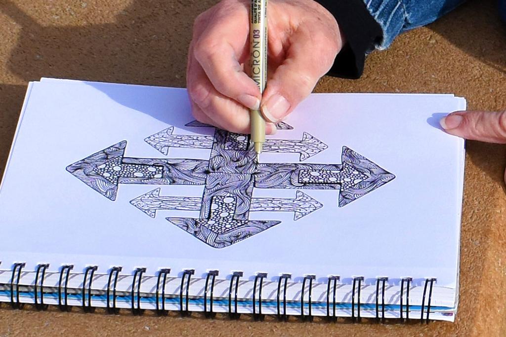 Zen Line Drawing