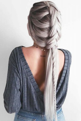 Adorable Dutch Braid Hairstyles To Amaze Your Friends! 9