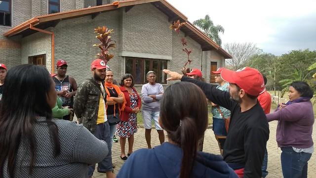 """""""Estar aqui nos dá esperança"""", diz integrante da Caravana contra a Fome sobre a ENFF"""