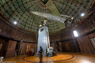 "The Great 36"" Refractor Telescope"