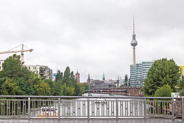 Vista dall'An der Schillingbrücke