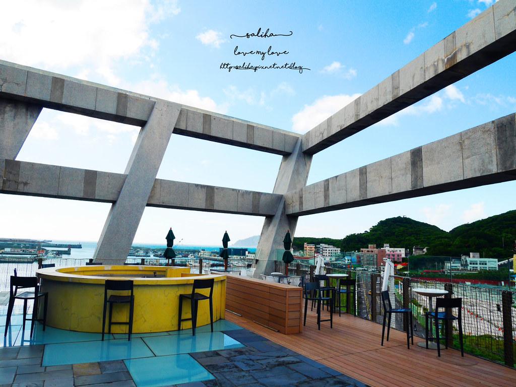 基隆忘幽谷附近景觀餐廳推薦海景咖啡下午茶 (2)