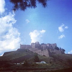 #Cardona castle in the sky