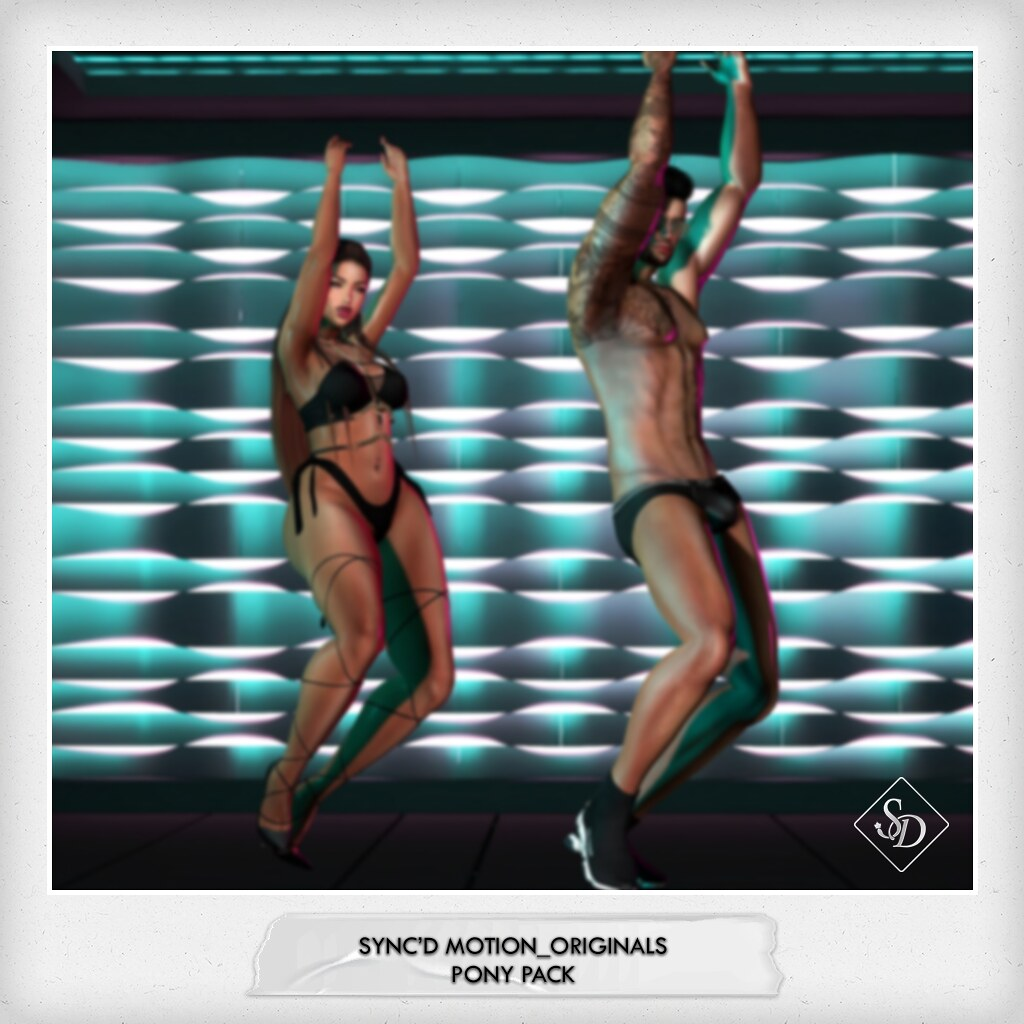Sync'D Motion__Originals - Pony  Pack