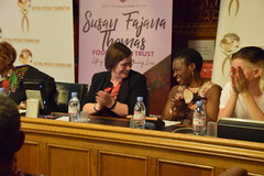 DSC_4641 African Suffragettes A Journey of Africa's Hidden Figures. Justina Mutale Foundation for Leadership at Houses of Parliament Westminster London with Meg Hillier MP