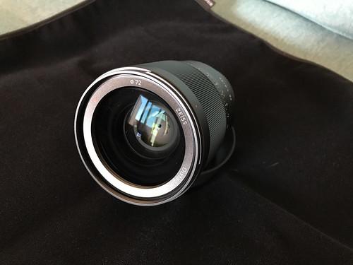 VENDIDO Objetivo Sony SEL35F14Z FE Distagon T* FE 35mm f/1.4 ZA en Camaras y Objetivos40626923985_c61aa7d899