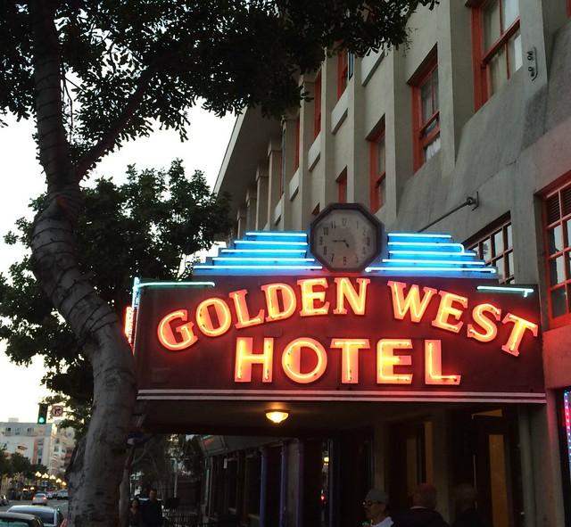 Golden West Neon Glow