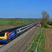 East Midland Trains HST at Cooks Lane 1D47 St Pancras to Nottingham