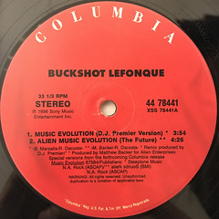 BUCKSHOT LEFONQUE:MUSIC EVOLUTION(LABEL SIDE-A)