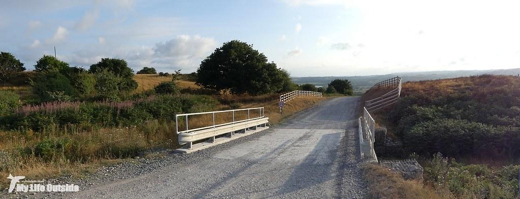 P1170614 - Route of the Mynydd y Gwair wind farm access track