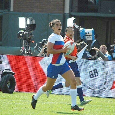 France women vs Japan #rugby #rugbygirls #rwc7s #attpark