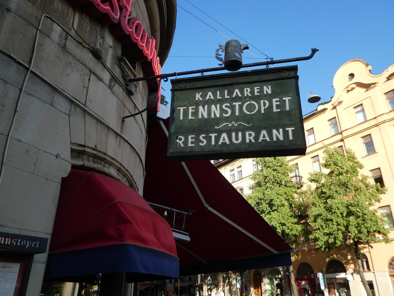 Tennstopet Restaurant, Vasatan, Stockholm