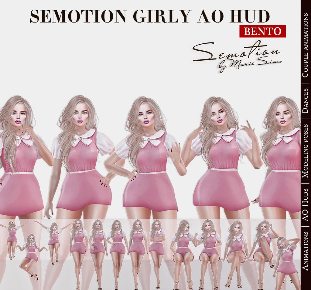 SEmotion Girly AO HUD - TeleportHub.com Live!