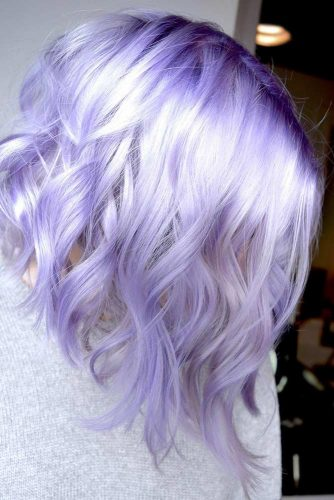 Latest Lavender Hair Color To Adopt The Newest Trend 8