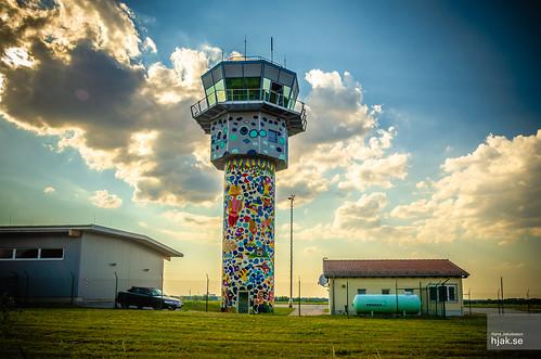 Altenburg airport tower
