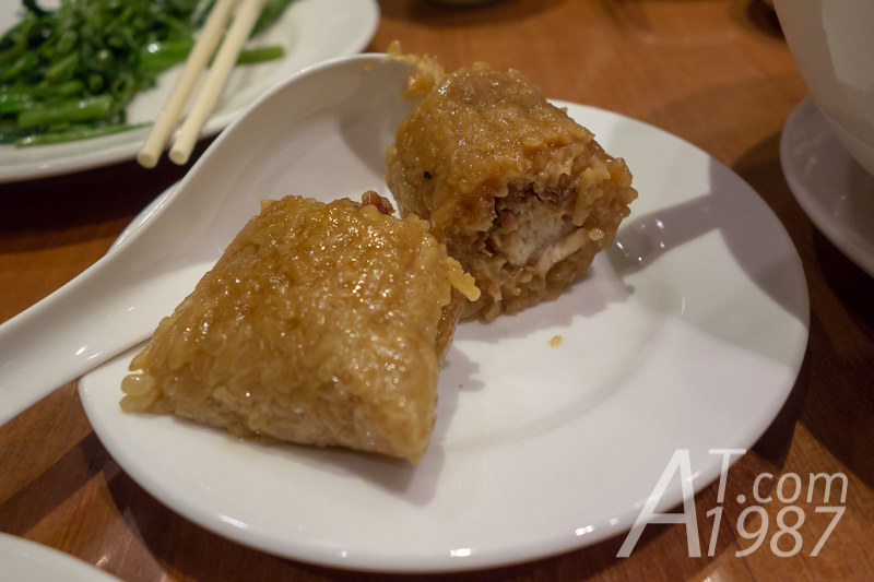 Din Tai Fung - Sticky Rice Wrap with Pork
