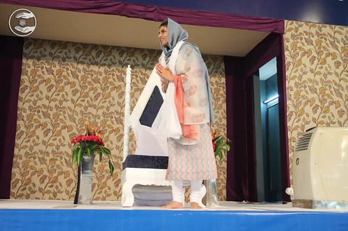 Arrival of Satguru Mata Sudiksha Ji Maharaj on the dais