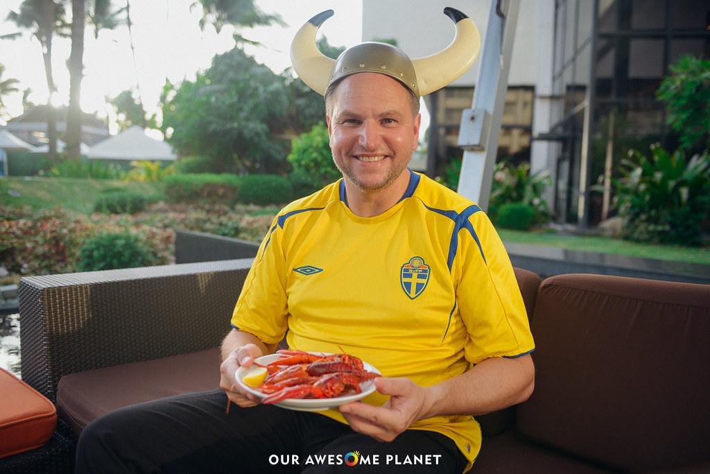 CRAYFISH PARTY: A True Nordic Feast @SofitelManila