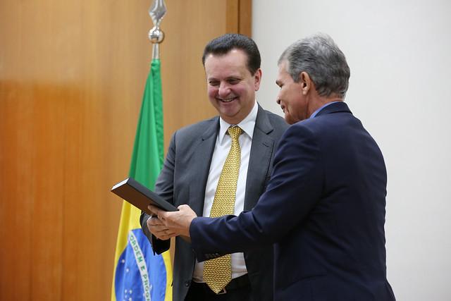 Kassab participa do lançamento da nova edição do Programa Estratégico de Sistemas Espaciais (PESE). 01/08/2018. Brasília-DF. Foto: Ricardo Fonseca/MCTIC.