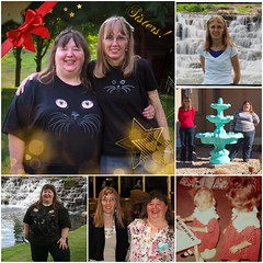 Sisters--A Collage of Years