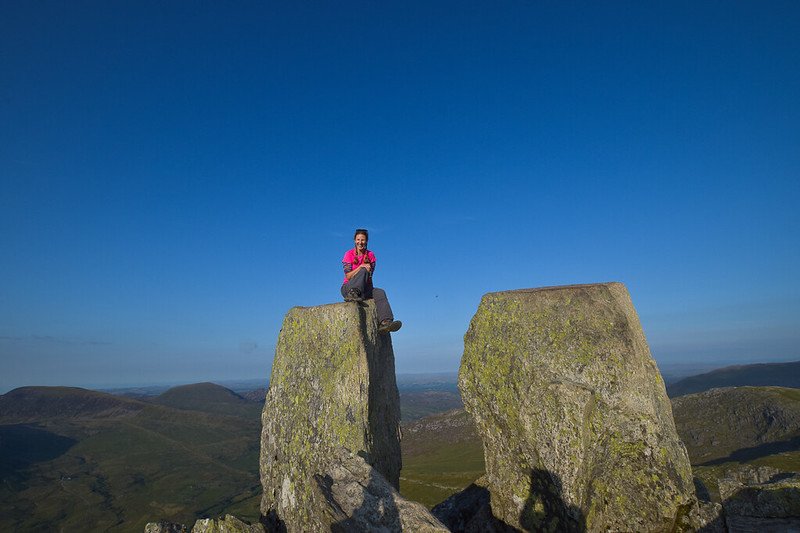 Tryfan Snowdonia - best walks in north Snowdonia