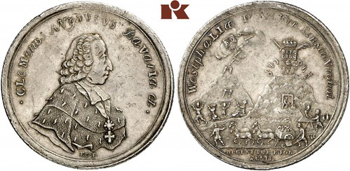 Clemens August of Bavaria taler2