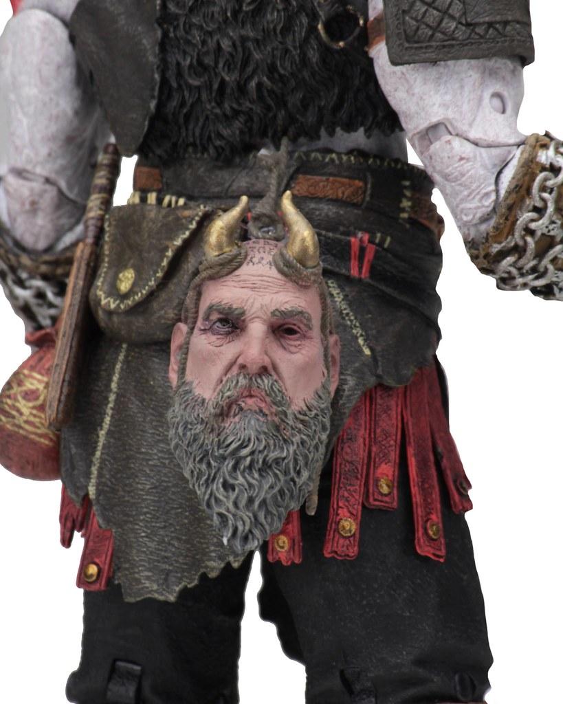 父子共同出擊!! NECA《戰神》終極克雷多斯&阿特柔斯 雙人包 Ultimate Kratos & Atreus 2-Pack 7 吋人偶作品