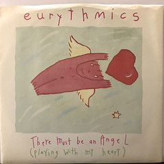 EURYTHMICS:THERE MUST BE AN ANGEL(PLAYING WITH MY HEART)(JACKET A)