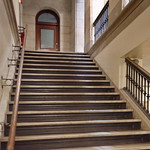 Albany NY City Hall 22 - Stairs Up to Second Level
