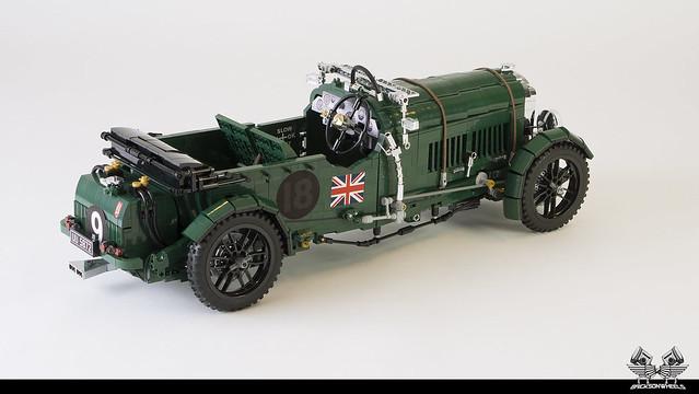1930 Bentley Blower in Lego 1:8,5