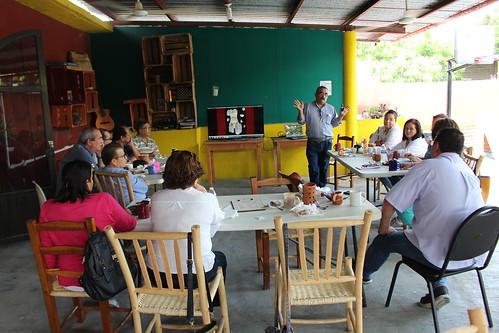 Profesores de la FADU visitan zonas Arqueológica e históricas del Estado de San Luis Potosí.
