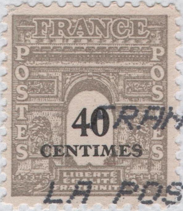 France - Scott #523B (1945)