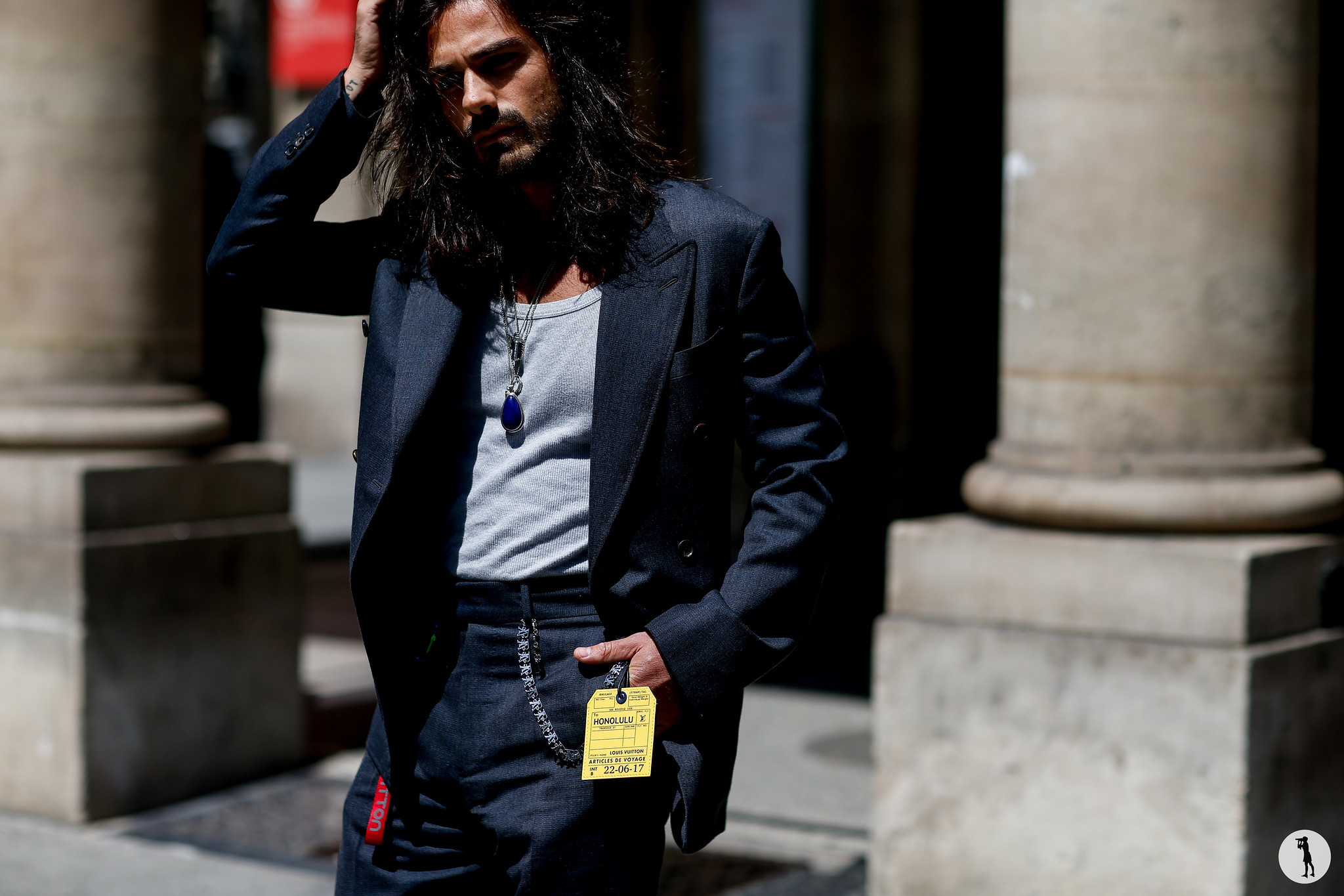 Giotto Calendoli - Paris Fashion Week Menswear SS19 (2)