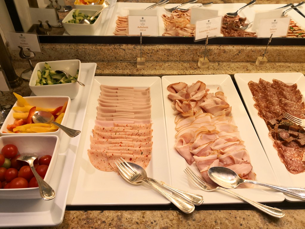 Variety of cold cuts