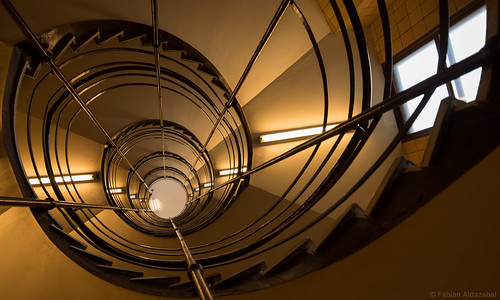 Spiraling Staircase, University Of Montreal