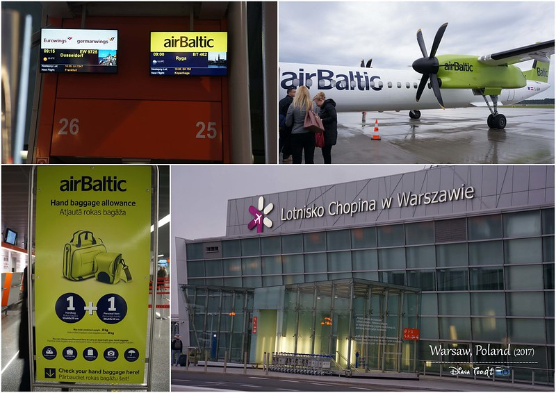 2017 Europe Warsaw Chopin Airport & Air Baltic