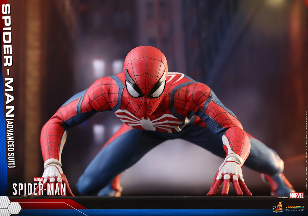Hot Toys – VGM31–《漫威蜘蛛人》蜘蛛人 (Advanced Suit)  Spider-Man (Advanced Suit) 1/6 比例人偶作品