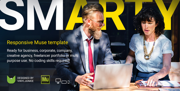 SmArty v1.0 - Multipurpose Responsive Muse Template