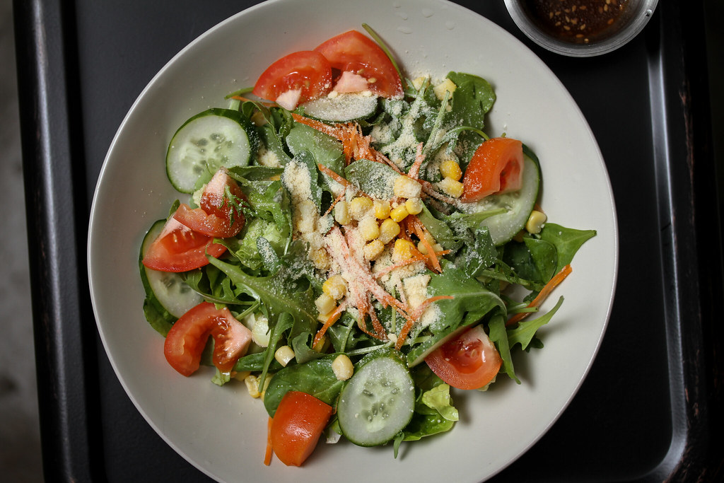 Daily Affairs Salad - Top Down